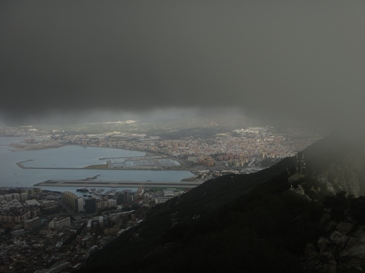 Gibraltar - view from the top of the rock